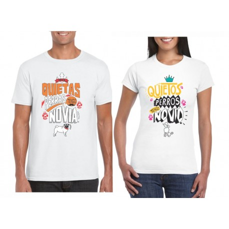 Camisetas Estampadas parejas