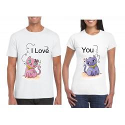 Camisetas Para Parejas en sublimacion