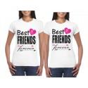 Camisetas Estampadas Mejores Amigas