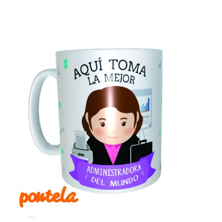 Mugs personalizado administradora
