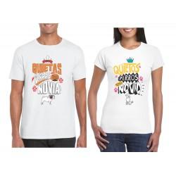 Camisetas Estampadas parejas