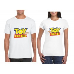 Camisetas Estampadas Parejas TOY