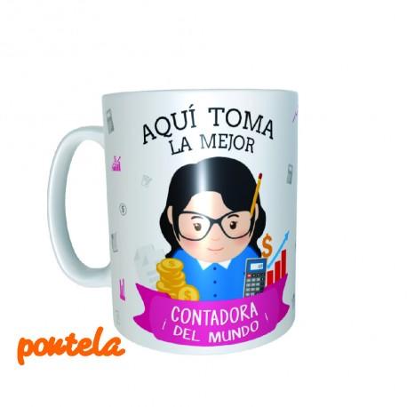 Mugs Personalizado Contadora
