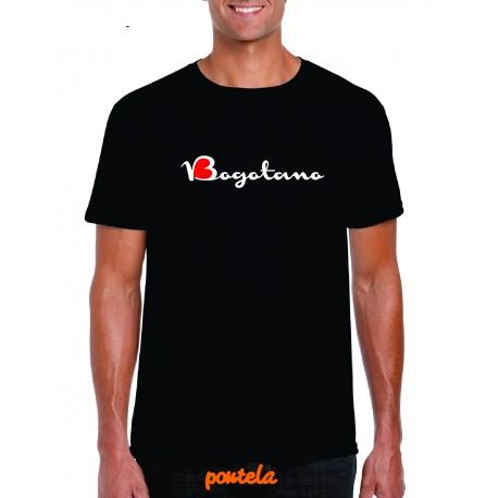 Camiseta estampada Bogotano