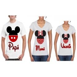 Camisetas para familia
