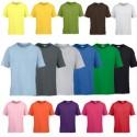 Camiseta algodon suavisado, algodon peinado